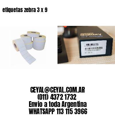 etiquetas zebra 3 x 9