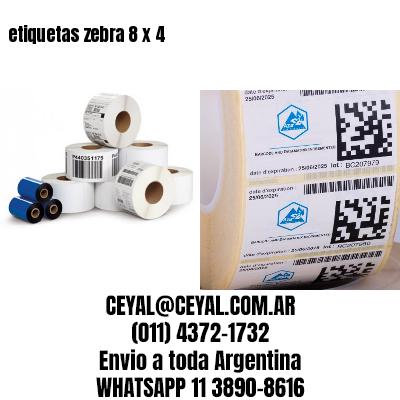 etiquetas zebra 8 x 4