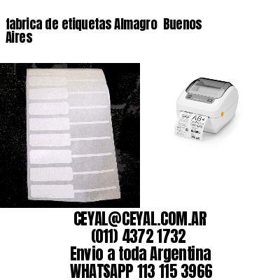 fabrica de etiquetas Almagro  Buenos Aires