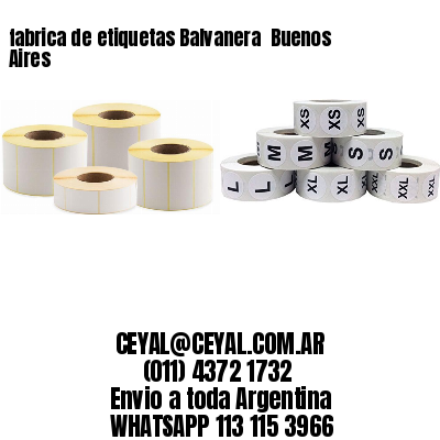 fabrica de etiquetas Balvanera  Buenos Aires
