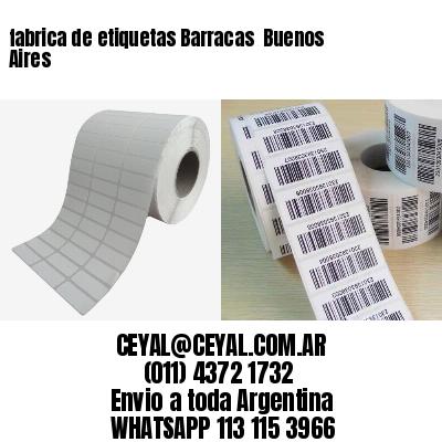 fabrica de etiquetas Barracas  Buenos Aires