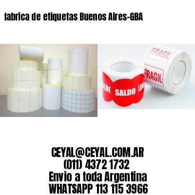 fabrica de etiquetas Buenos Aires-GBA
