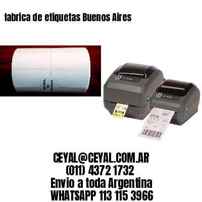 fabrica de etiquetas Buenos Aires