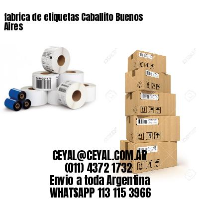 fabrica de etiquetas Caballito Buenos Aires