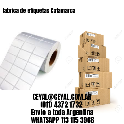 fabrica de etiquetas Catamarca
