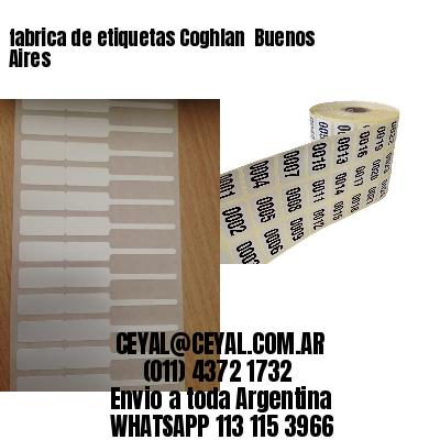 fabrica de etiquetas Coghlan  Buenos Aires