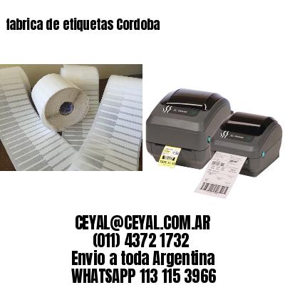 fabrica de etiquetas Cordoba