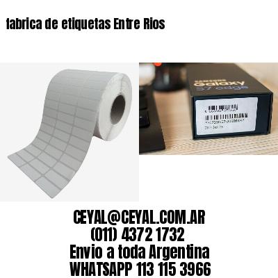 fabrica de etiquetas Entre Rios