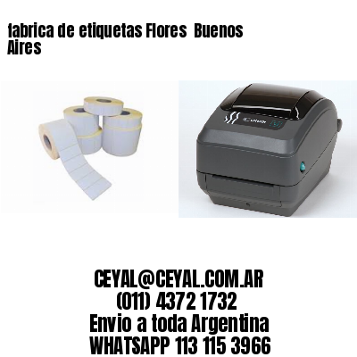 fabrica de etiquetas Flores  Buenos Aires