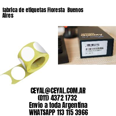 fabrica de etiquetas Floresta  Buenos Aires