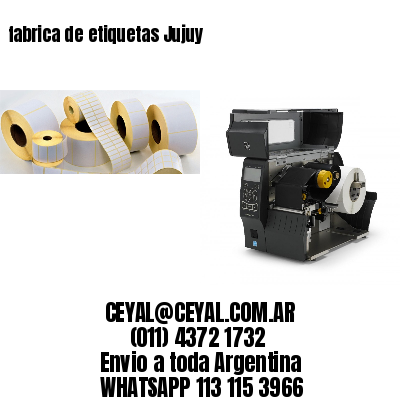 fabrica de etiquetas Jujuy