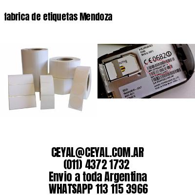 fabrica de etiquetas Mendoza