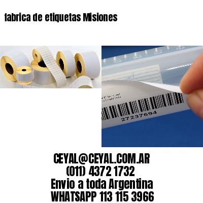fabrica de etiquetas Misiones
