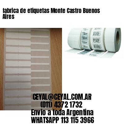 fabrica de etiquetas Monte Castro Buenos Aires