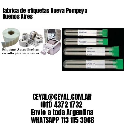 fabrica de etiquetas Nueva Pompeya  Buenos Aires