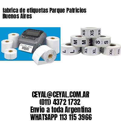 fabrica de etiquetas Parque Patricios  Buenos Aires