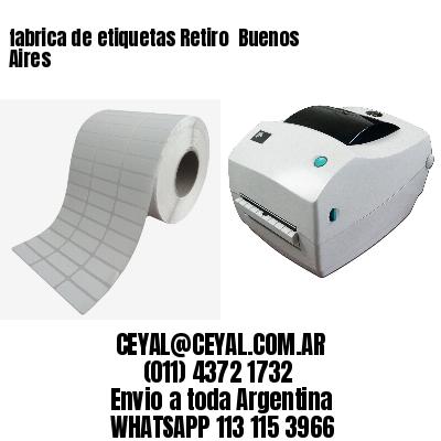 fabrica de etiquetas Retiro  Buenos Aires