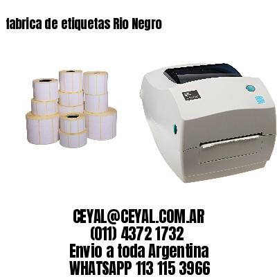 fabrica de etiquetas Rio Negro