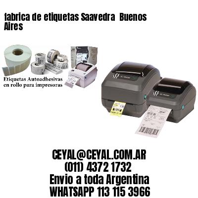 fabrica de etiquetas Saavedra  Buenos Aires