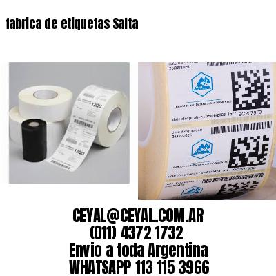 fabrica de etiquetas Salta