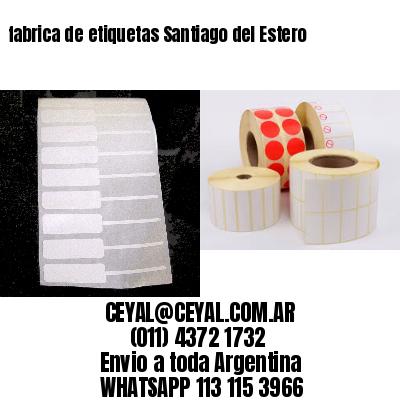 fabrica de etiquetas Santiago del Estero