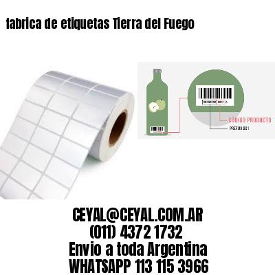 fabrica de etiquetas Tierra del Fuego