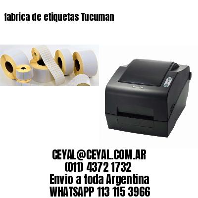 fabrica de etiquetas Tucuman