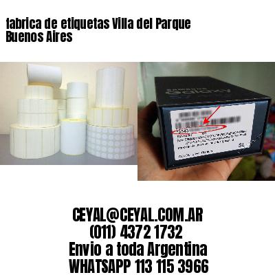 fabrica de etiquetas Villa del Parque  Buenos Aires