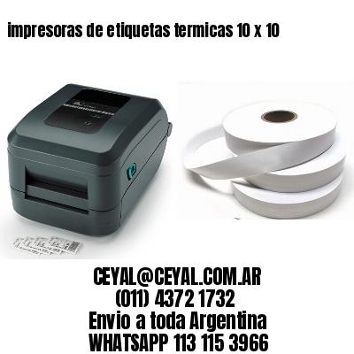 impresoras de etiquetas termicas 10 x 10