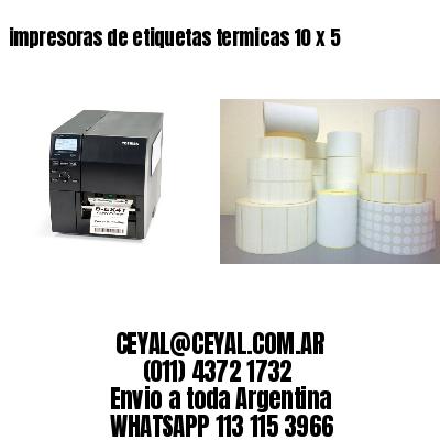 impresoras de etiquetas termicas 10 x 5