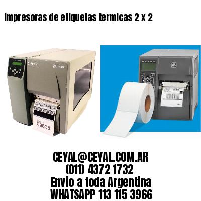 impresoras de etiquetas termicas 2 x 2