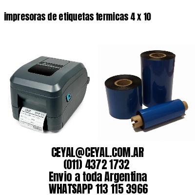 impresoras de etiquetas termicas 4 x 10