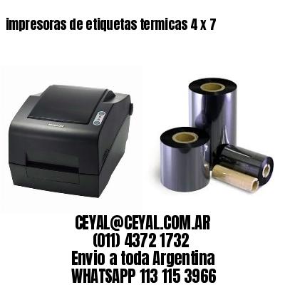 impresoras de etiquetas termicas 4 x 7