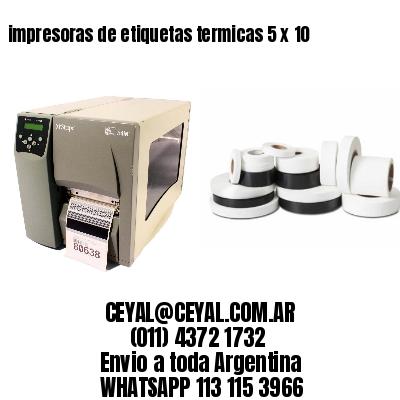 impresoras de etiquetas termicas 5 x 10
