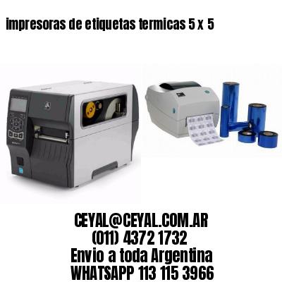 impresoras de etiquetas termicas 5 x 5
