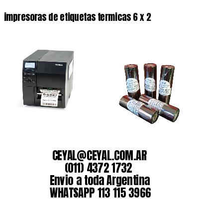 impresoras de etiquetas termicas 6 x 2