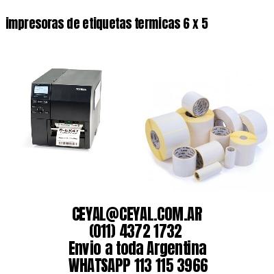 impresoras de etiquetas termicas 6 x 5