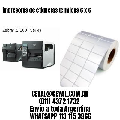 impresoras de etiquetas termicas 6 x 6