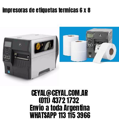 impresoras de etiquetas termicas 6 x 8