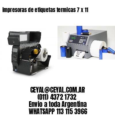 impresoras de etiquetas termicas 7 x 11