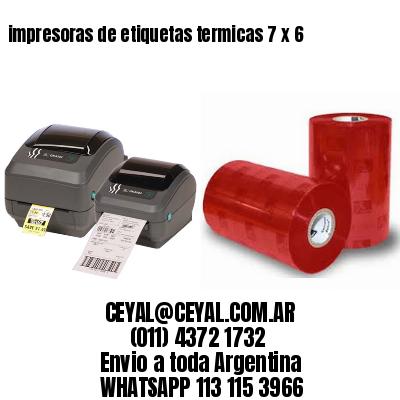 impresoras de etiquetas termicas 7 x 6