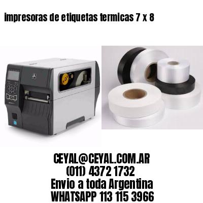 impresoras de etiquetas termicas 7 x 8