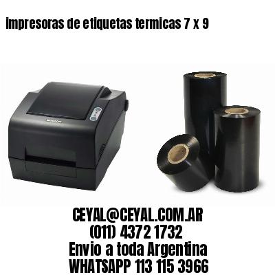 impresoras de etiquetas termicas 7 x 9