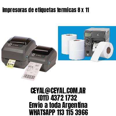 impresoras de etiquetas termicas 8 x 11