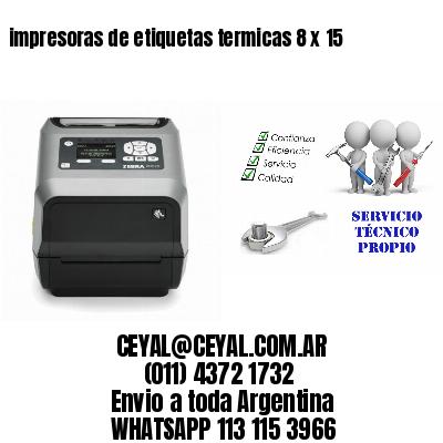 impresoras de etiquetas termicas 8 x 15