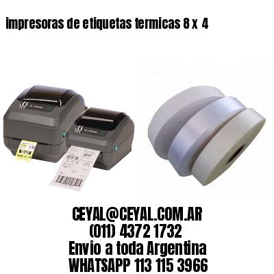 impresoras de etiquetas termicas 8 x 4