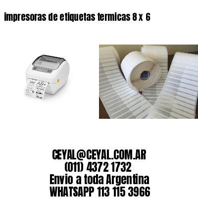 impresoras de etiquetas termicas 8 x 6