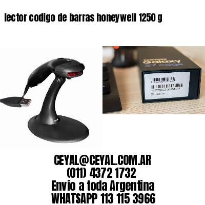 lector codigo de barras honeywell 1250 g
