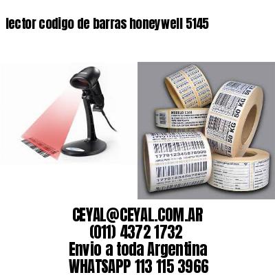 lector codigo de barras honeywell 5145