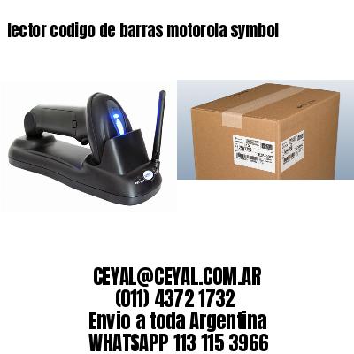 lector codigo de barras motorola symbol